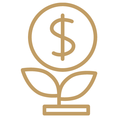 icon of money growing